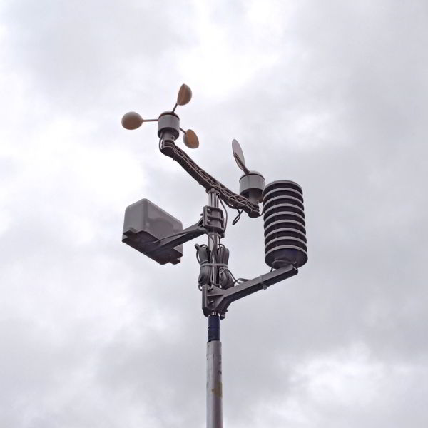 Weather Station Photograph